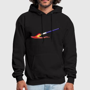 Paint  Brush - Men's Hoodie