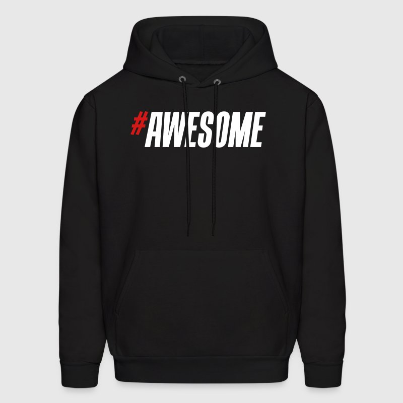 #Awesome - Men's Hoodie