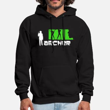 Cartoon Archer Cartoon - Men's Hoodie