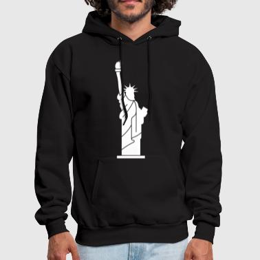 Statue of Liberty, Lady Liberty - Men's Hoodie