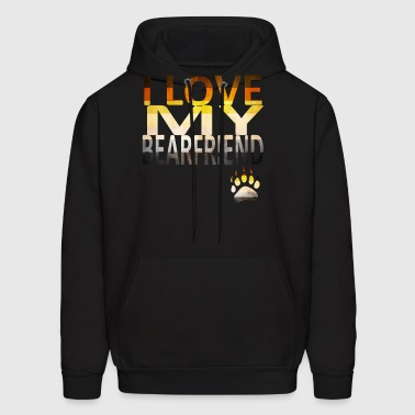 I Love My Bear - Men's Hoodie
