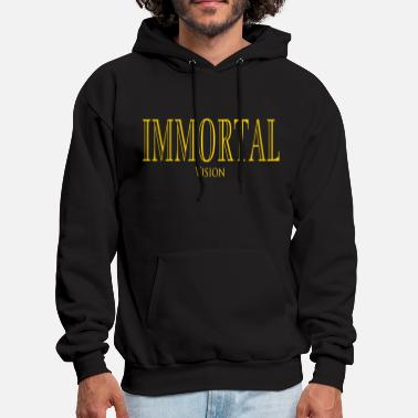 Gold Immortal Vision - Men's Hoodie