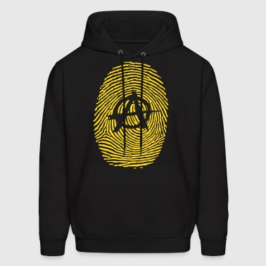 ANARCHY FINGERPRINT - Men's Hoodie