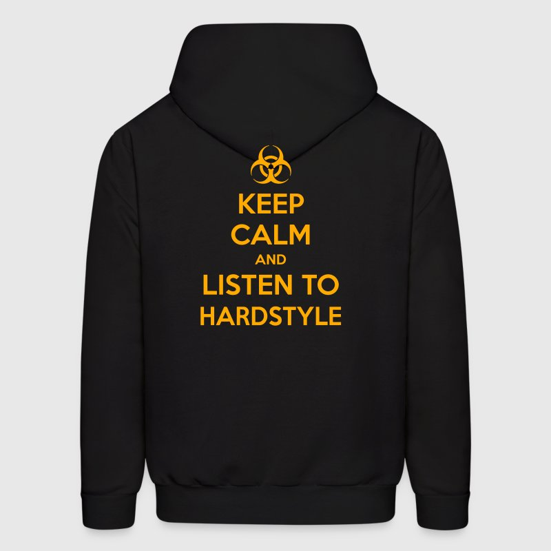 Keep Calm And Listen To Hardstyle - Men's Hoodie