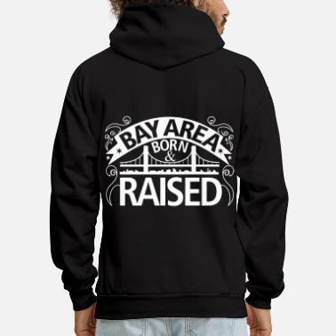Area born_and_raised_new - Men's Hoodie