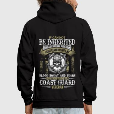 COAST GUARD VETERAN TITLE - Men's Hoodie