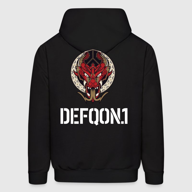 Defqon.1 Dragonbloon 2016 - Men's Hoodie