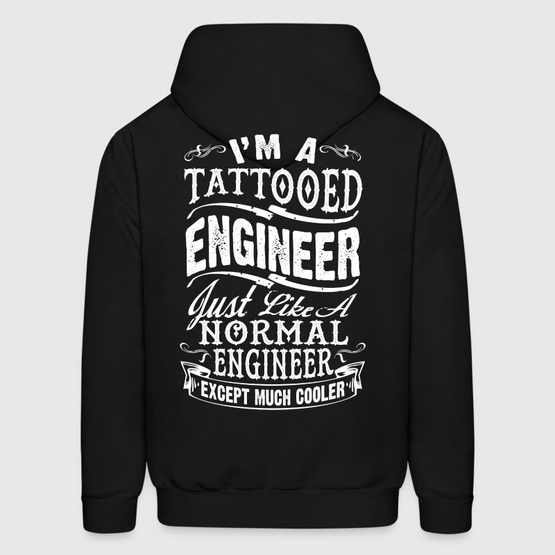 TATTOOED ENGINEER2 - Men's Hoodie