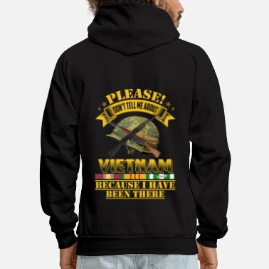 DONT TELL ME ABOUT  - Men's Hoodie
