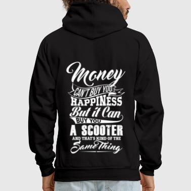 MONEY and SCOOTER w - Men's Hoodie