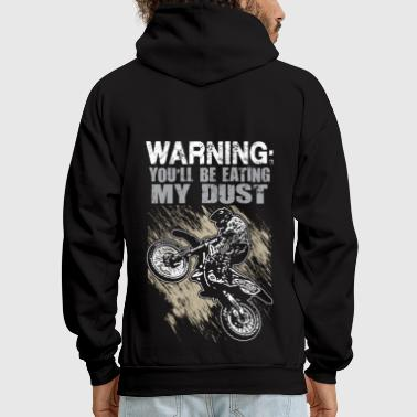 FMX Dust Warning - Men's Hoodie