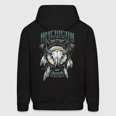American Indian - Men's Hoodie