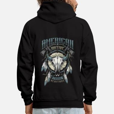 Heritage American Indian - Men's Hoodie