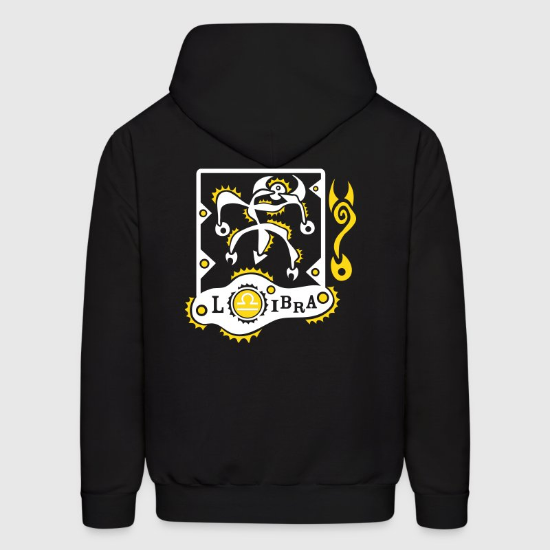Libra Zodiac Sign Art - Men's Hoodie