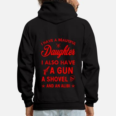 Daughter Beautiful Daughter - Men's Hoodie