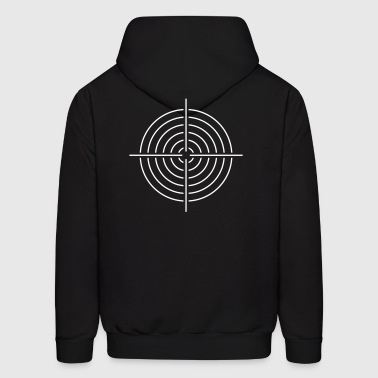 Scope sight aim - Men's Hoodie