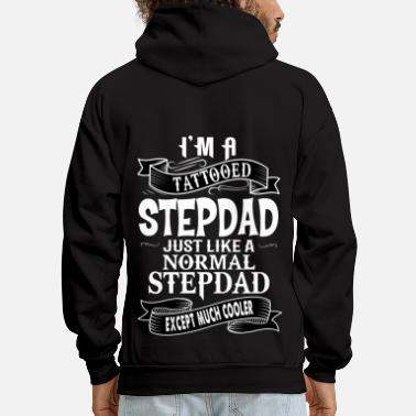 Stepdad TATTOOED STEPDAD - Men's Hoodie