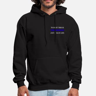 Police Officer To Most This is TEW T-Shirts - Men's Hoodie