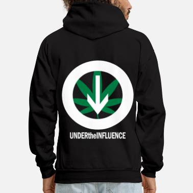 Under The Influence Under the Influence TWO COLOR VECTOR - Men's Hoodie