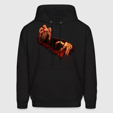 Zombie Shirts Gory Halloween Scary Zombie Gifts  - Men's Hoodie
