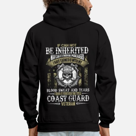 Coast Guard Veteran Gift Tee Veteran of The Us Hoodie U.S