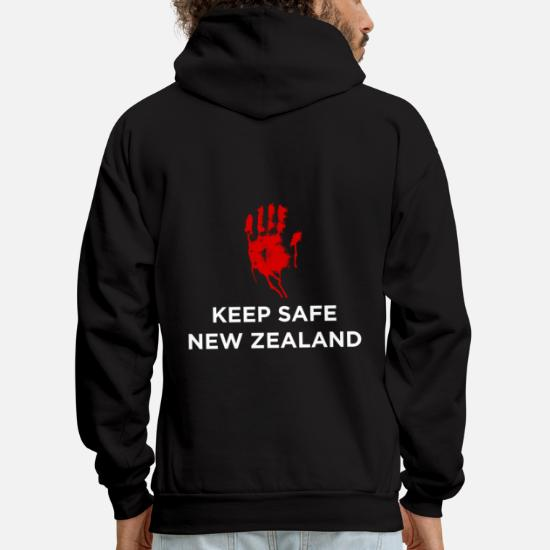 Keep safe new zealand Men's Hoodie | Spreadshirt