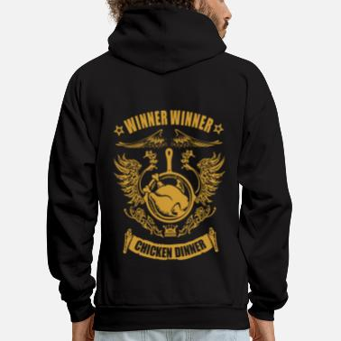 Winner chicken dinner - Men's Hoodie