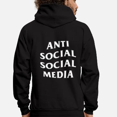 2b6892ec3620 Social Anti Social Social Club Parody Anti Social Social - Men s Hoodie