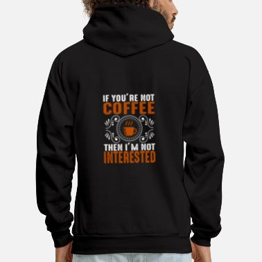 Interesting not interested - Men's Hoodie