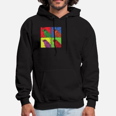 Rodent Hawk Beak Rodent Feather - Men's Hoodie