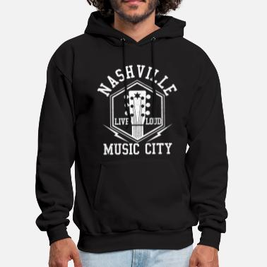 Nashville Nashville Tennessee - Country Music City - Men's Hoodie