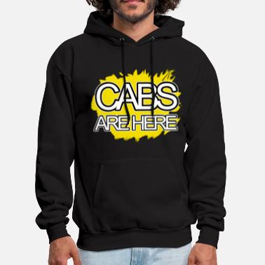 Cabs-are-here-jersey-shore Cabs Are Here - Men's Hoodie