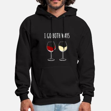 Red Wine Red Wine and White Wine - Men's Hoodie