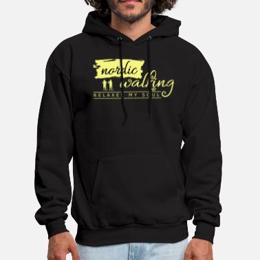 Nordic Walking Nordic Walker Fitness Gift Idea - Men's Hoodie
