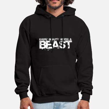 Beast Beauty and BEAST - Men's Hoodie