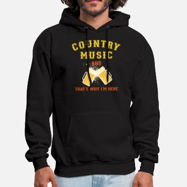 Country Music Country Music - Men's Hoodie