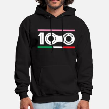 Giro D italia 2017 100Th Edition Cycling Bike Mens - Men's Hoodie