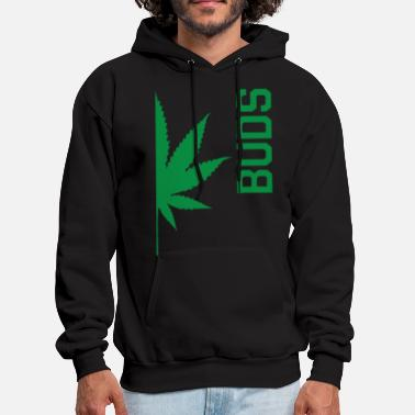 Bud Best Buds Couples BUDS Matching Canabis Dope Weed - Men's Hoodie
