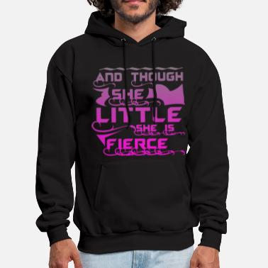 She And though she Little she is fierce - Men's Hoodie