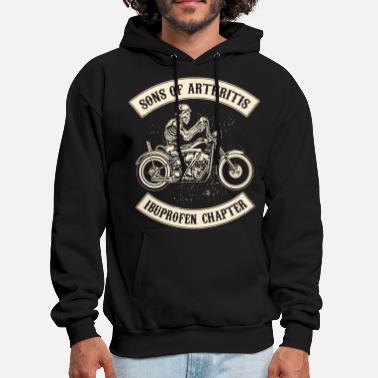 sons of arthritis cycling t shirts - Men's Hoodie