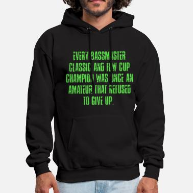 One Punch Man every bassmaster classic and flw cup champion was - Men's Hoodie
