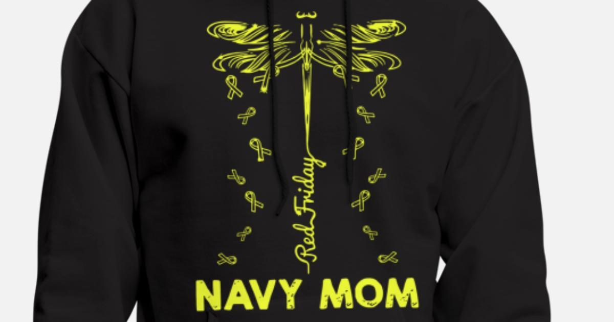 de100b1fd Navy Mom Red Friday Dragon Fly best friday animal Men's Hoodie | Spreadshirt