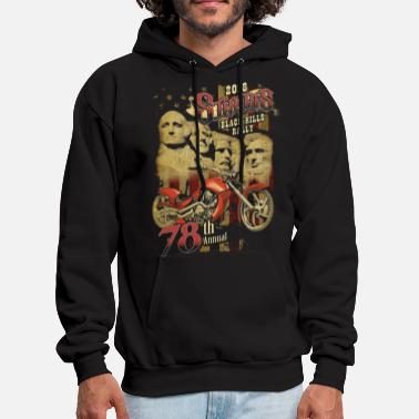 2018 sturgrs rally 78th annual motorcy - Men's Hoodie
