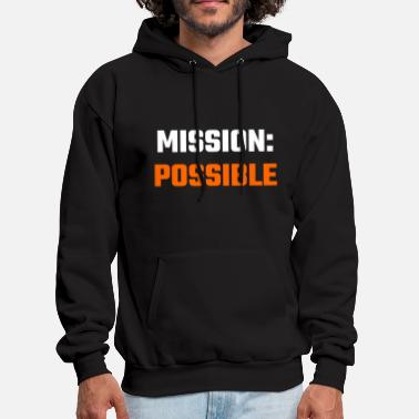 Missionary Position Mission - Mission Possible - Men's Hoodie