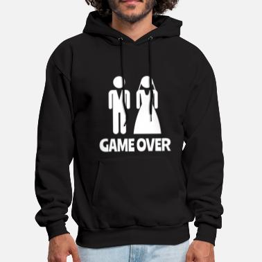 Game Game Over Bachelor Party - Men's Hoodie