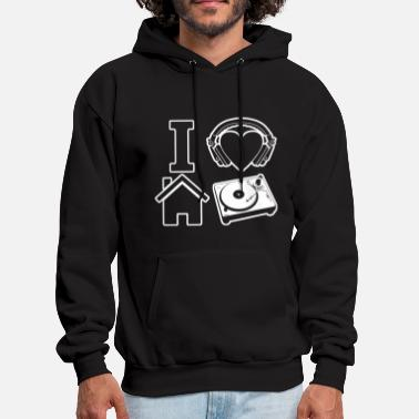 House Music Music - i love house music - Men's Hoodie