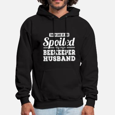 Beekeeper Spoiled By My Beekeeper Husband T-shirt - Men's Hoodie