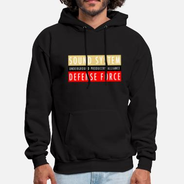 Sound System UPA Sound System Defense Force - Men's Hoodie