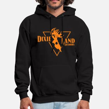 Bowhunter Dixie Land Outdoors Men s Long Sleeve Bowhunter De - Men's Hoodie