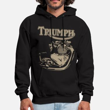 Triumph New Triumph Engine Motorcycle cycling T Shirts - Men's Hoodie